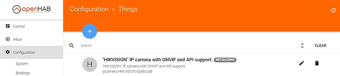 IpCamera: New IP Camera Binding - Bindings - openHAB Community