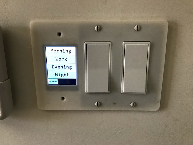 Home Automation Switch Plate (HASP) - DIY touch controller - DIY