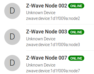 SOLVED] Z-Wave devices remain unknown after update