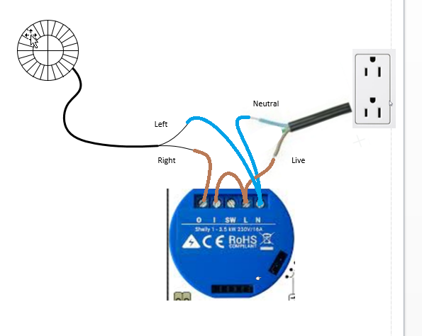 Confused About Wiring Shelly 1 Beginners Openhab Community