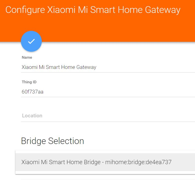 Multiple Xiaomi Gateways In One Instance Of Openhab