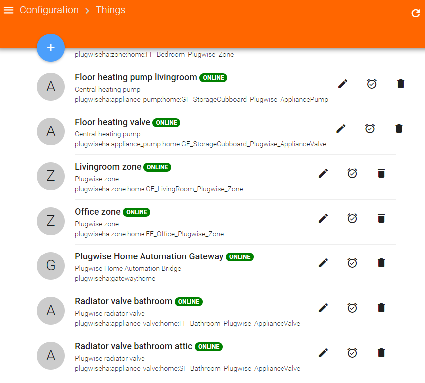 Plugwise Home Automation Binding For OpenHAB
