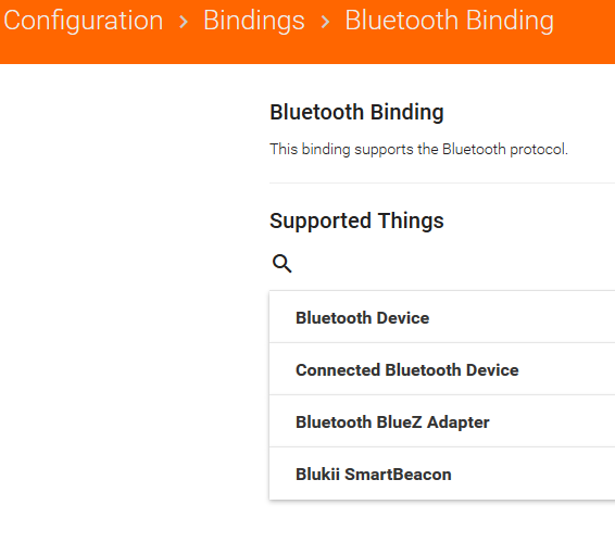 Official Bluetooth Binding: Not working correctly in OH 2 4